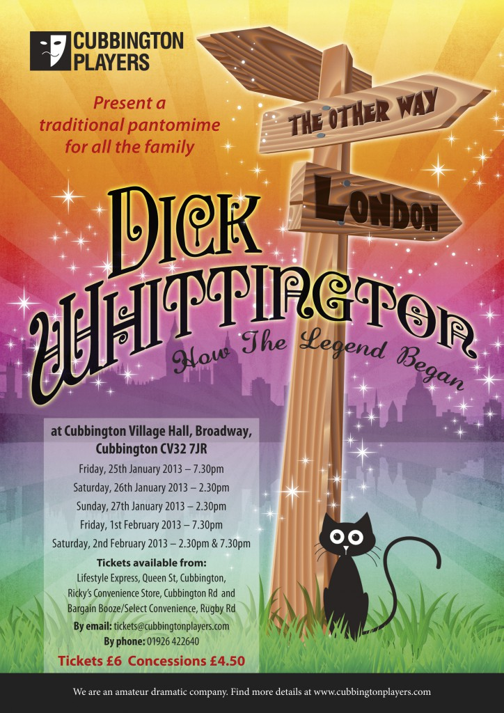 Dick Whitt Poster