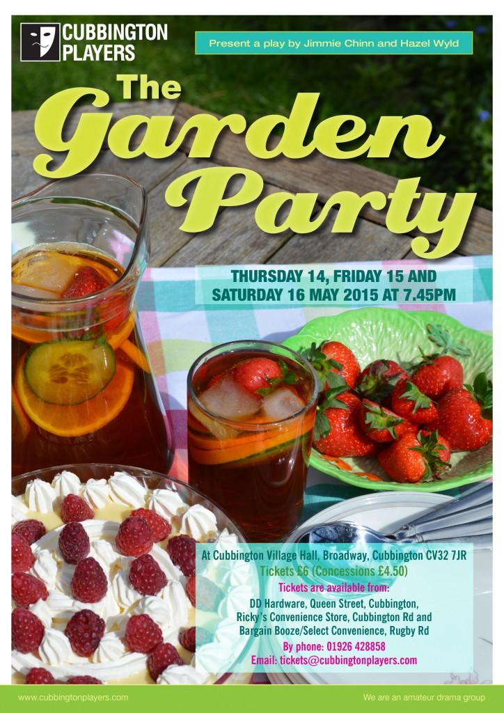 Garden Party Poster