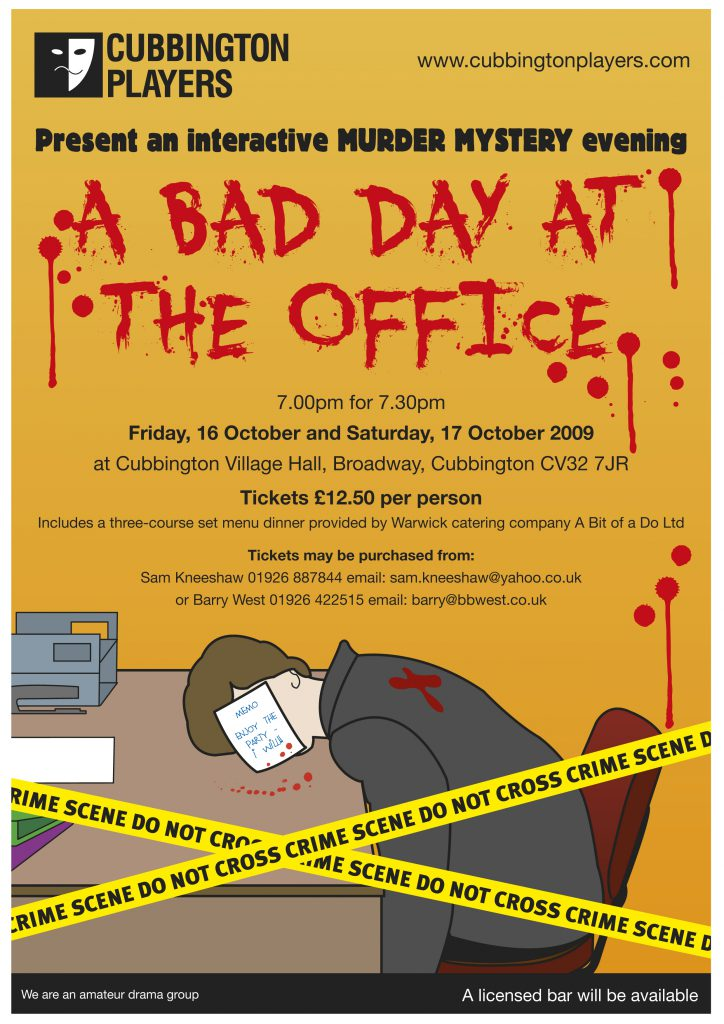 BAD DAY Poster.indd